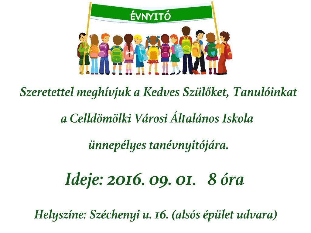 ÉVNYITÓ 2016-1