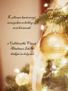 Karácsonyi üdvözlet 2017
