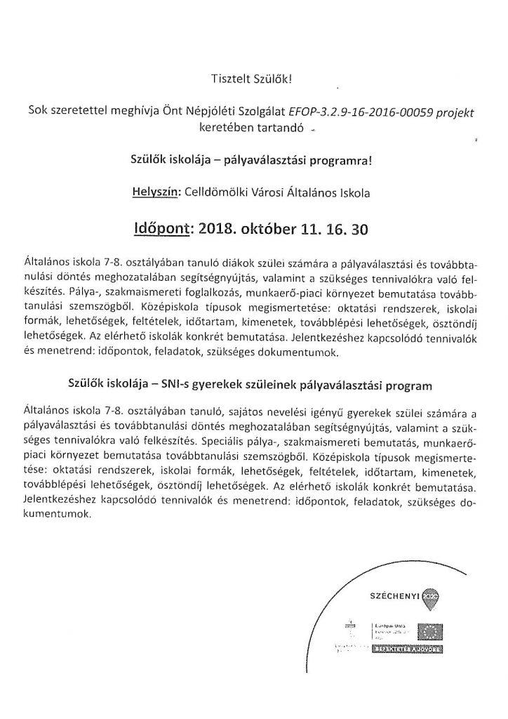 Pályaválasztási program